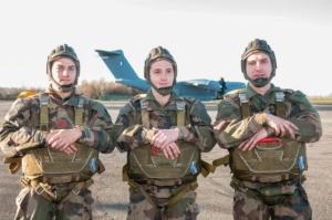 Brevet Parachutistes musiciens