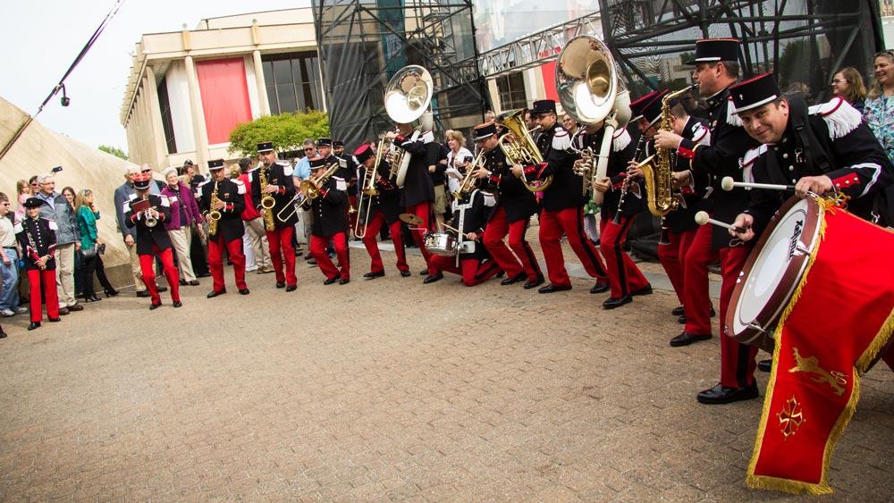 Musique des Parachutistes - Orchestre Banda