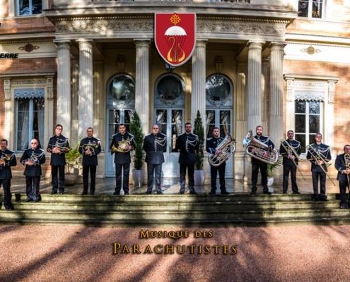 Medley Noël par le Brass de la Musique des Parachutistes de Toulouse
